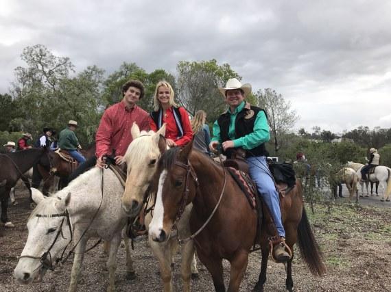 Rancho Santa Fe Christmas Ride and BBQ  at Rancho Riding Club 2016