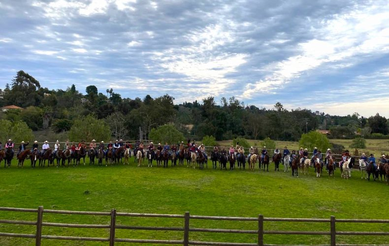 Rancho Riding Club (AKA Rancheros) Christmas Ride and Lunch at the Club House